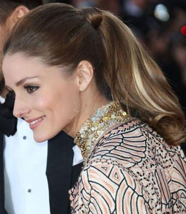 La queue-de-cheval de Olivia Palermo au Festival de Cannes, en 2013