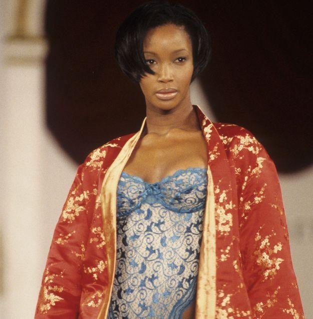 Naomi Campbell avant