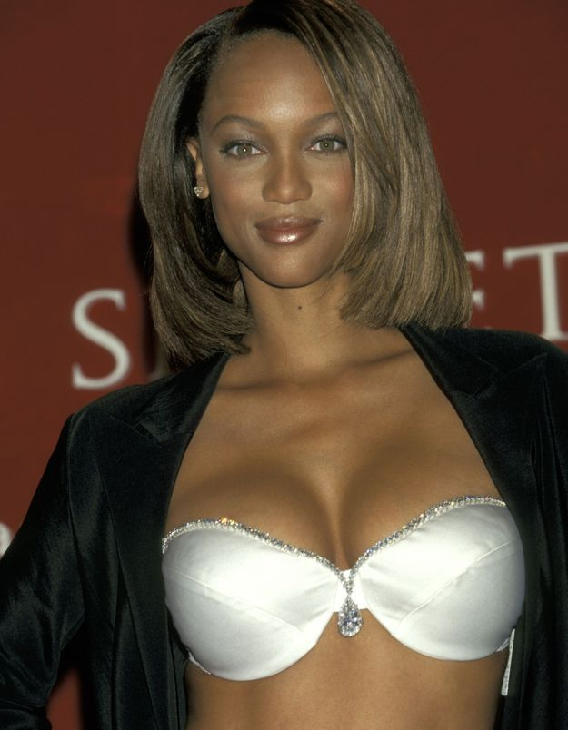 Tyra Banks avant