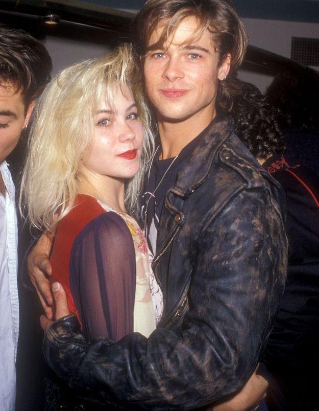 Brad Pitt et Christina Applegate en 1988