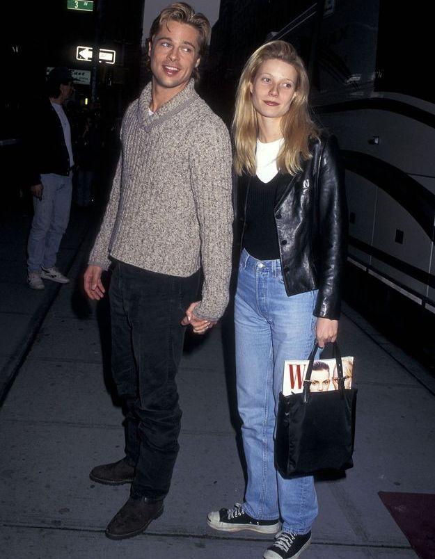 Brad Pitt et Gwyneth Paltrow en 1996