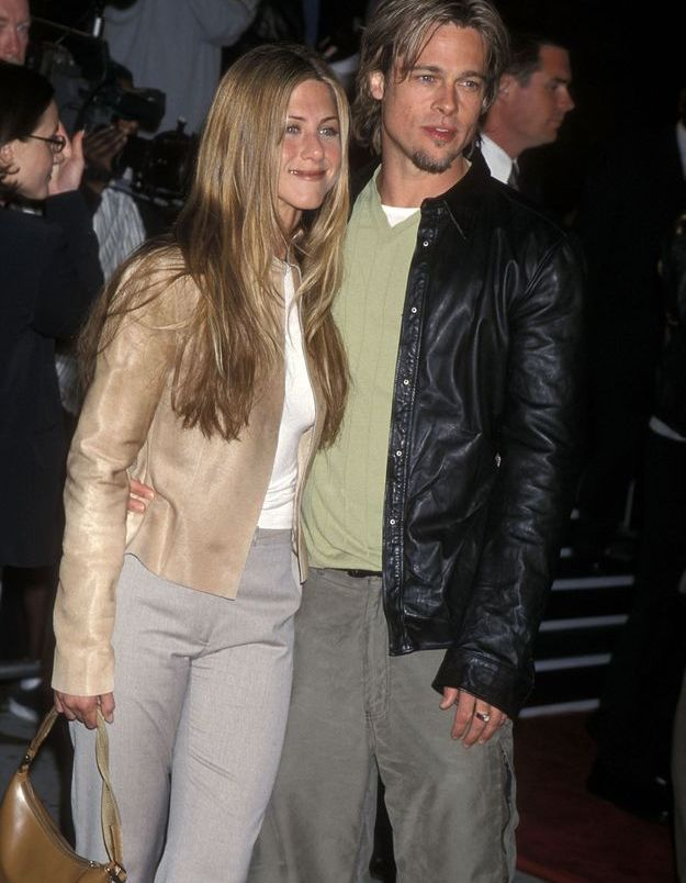 Brad Pitt et Jennifer Aniston en 2000