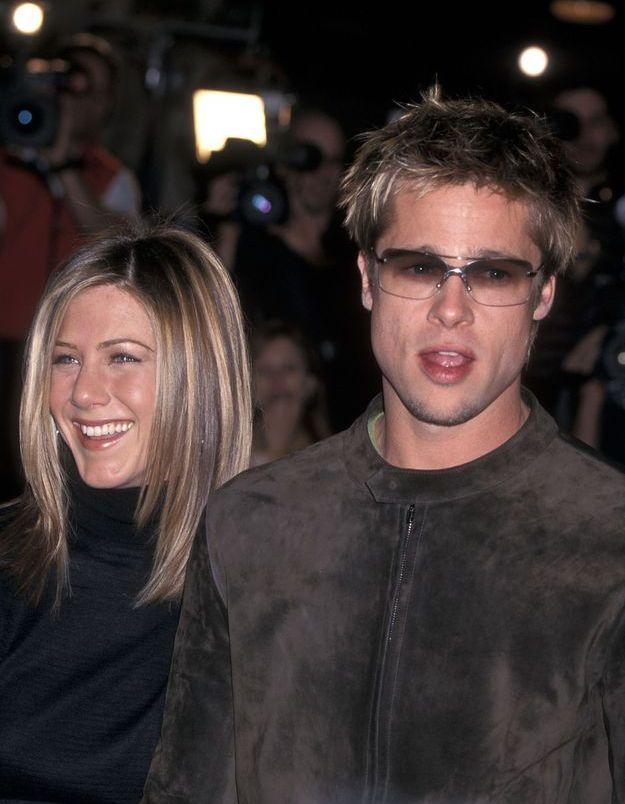 Brad Pitt et Jennifer Aniston en 2001