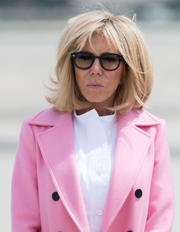 Les cheveux crêpés de Brigitte Macron
