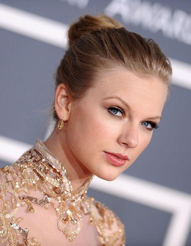 2012 : Taylor Swift et son chignon de danseuse