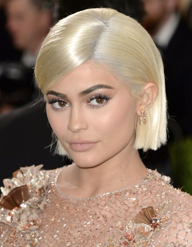 Kylie Jenner et son carré blond
