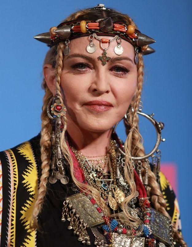 La coiffure sensationnelle berbère de Madonna