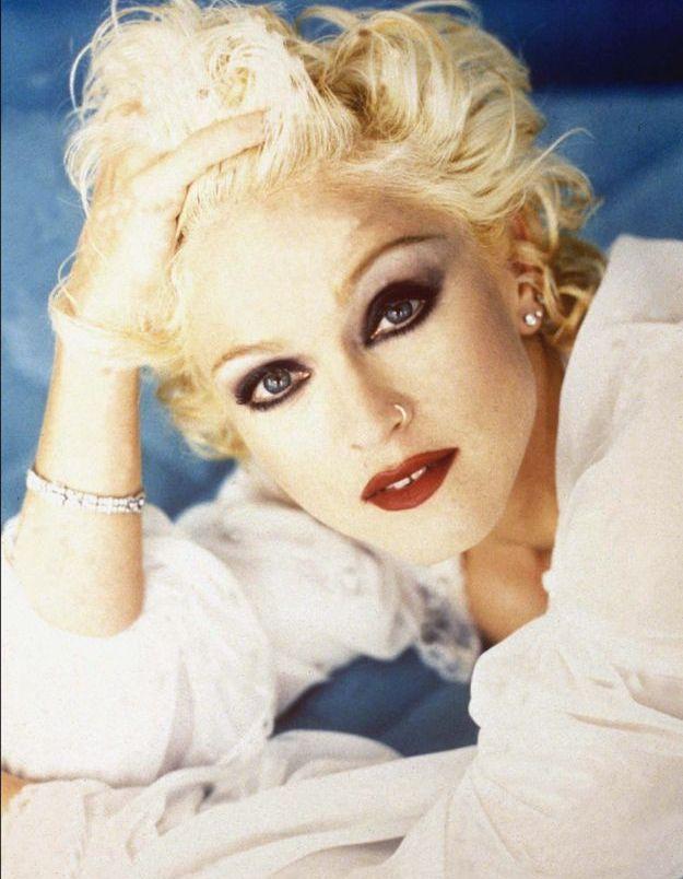 Madonna en blonde platine, plus glamour que jamais