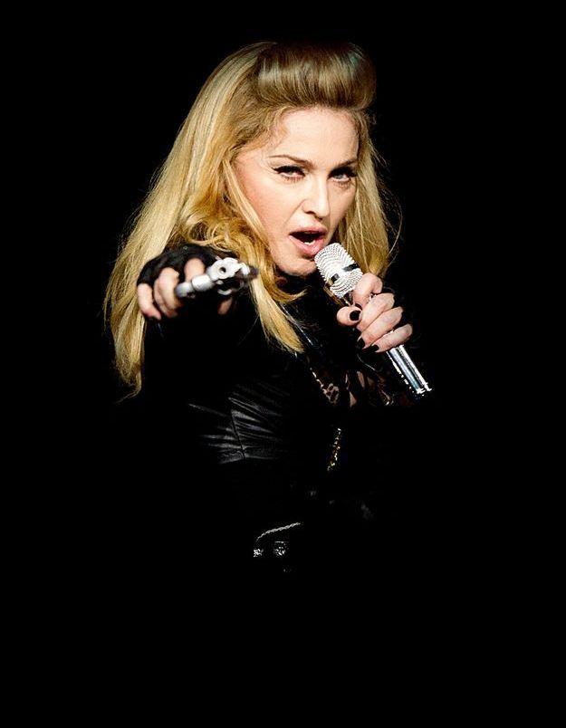 Madonna et sa banane