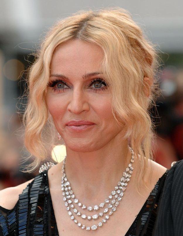 Madonna et sa frange wavy