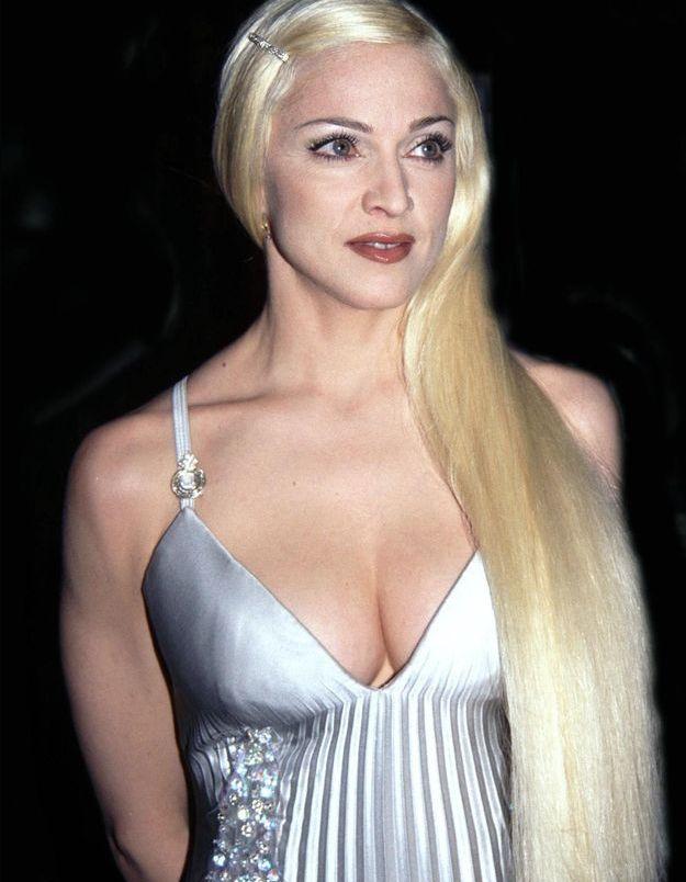 Madonna et ses extensions blondes polaires