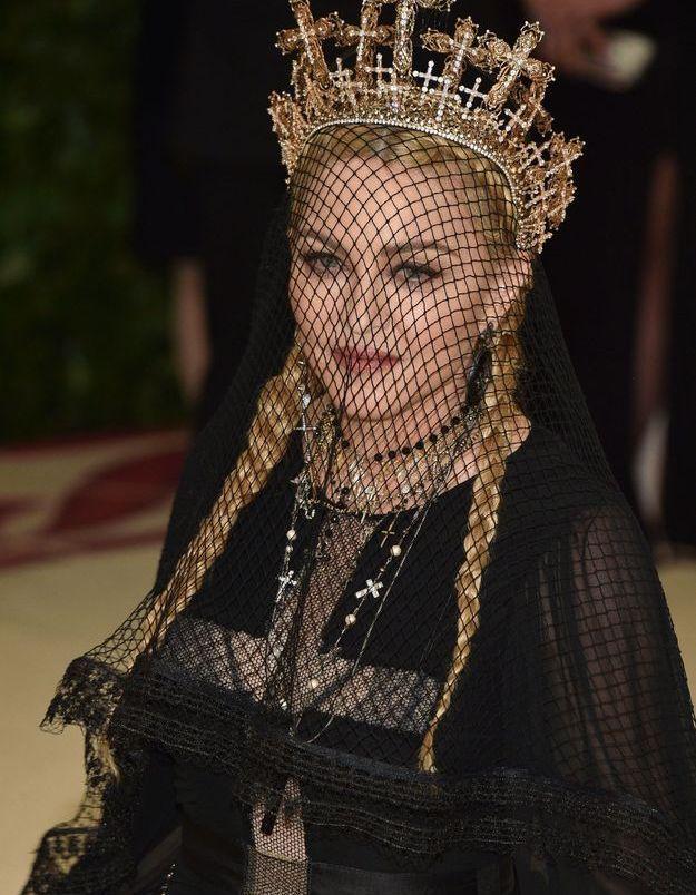 Madonna et ses tresses pour le Met Gala 2018