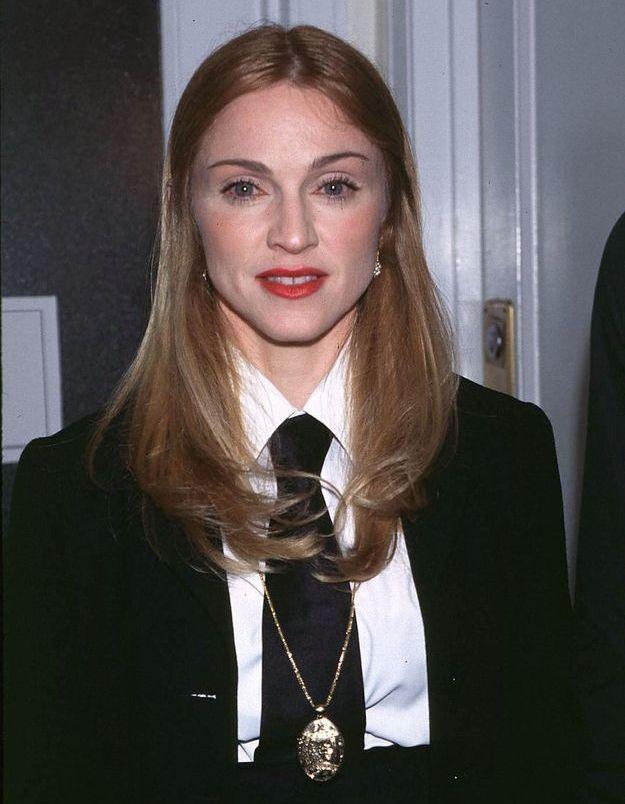 Madonna et son beautylook sage