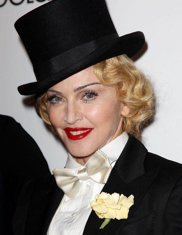 Madonna et son look androgyne