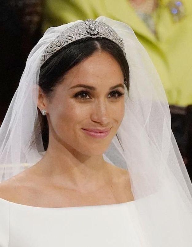 Mariage Du Prince Harry Et Meghan La Mariée A Opté Pour Un