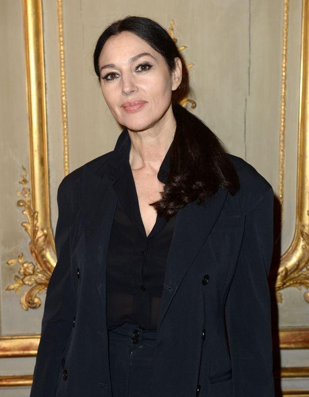 Monica Belluci : elle n'a jamais eu les cheveux aussi courts