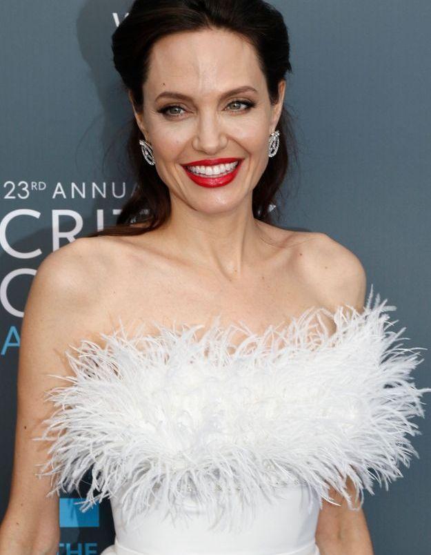 Angelina Jolie au naturel