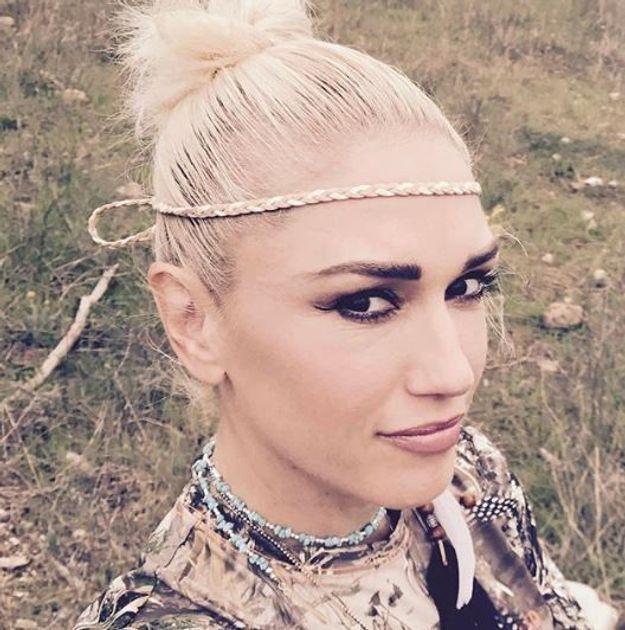 Gwen Stefani et ses cheveux normaux