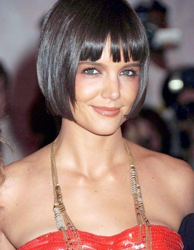 Katie Holmes et sa perruque courte