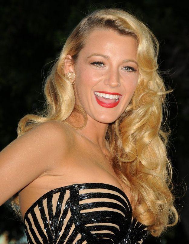 Le blond doré de Blake Lively