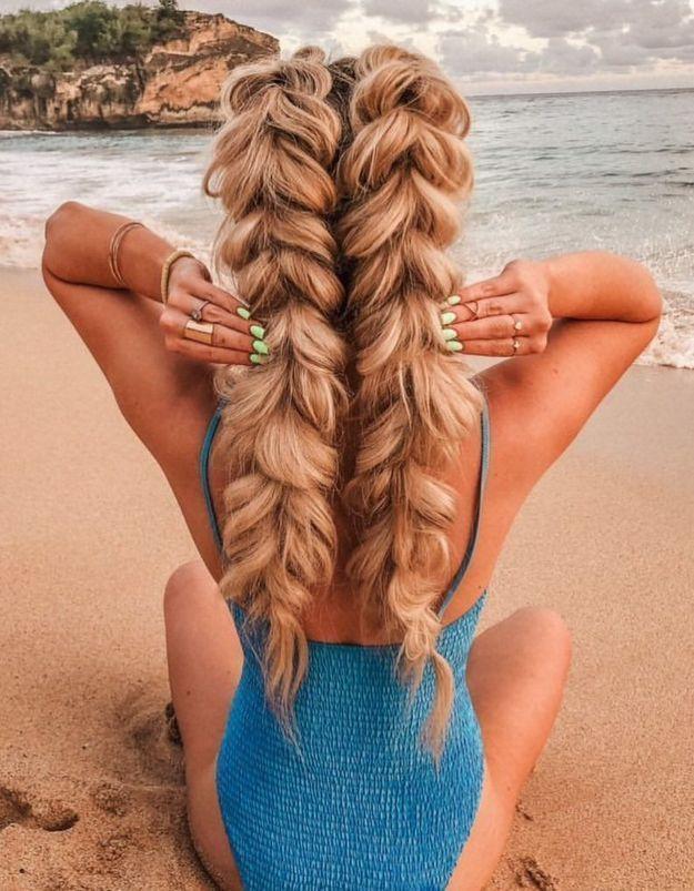 Cette tendance de coiffure pour l'été affole Pinterest
