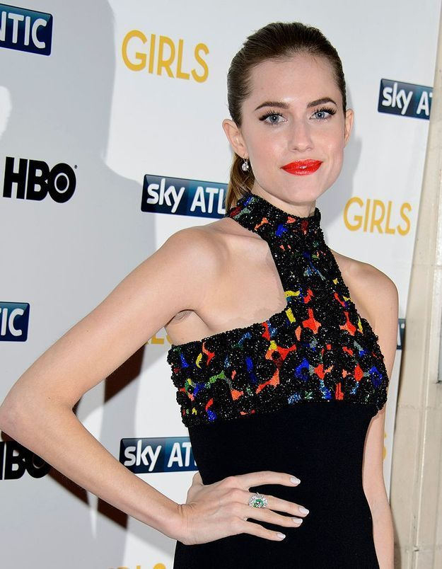 La star qui l'adopte : Allison Williams