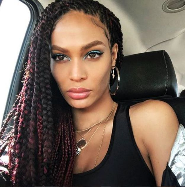 Les tresses de Joan Smalls
