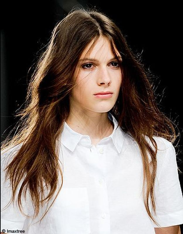 Beaute tendance cheveux coiffure defiles londres Paul Smith 2