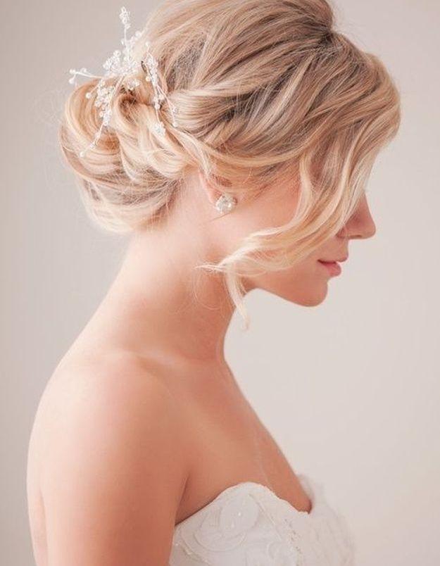 Coiffure de mariée classique