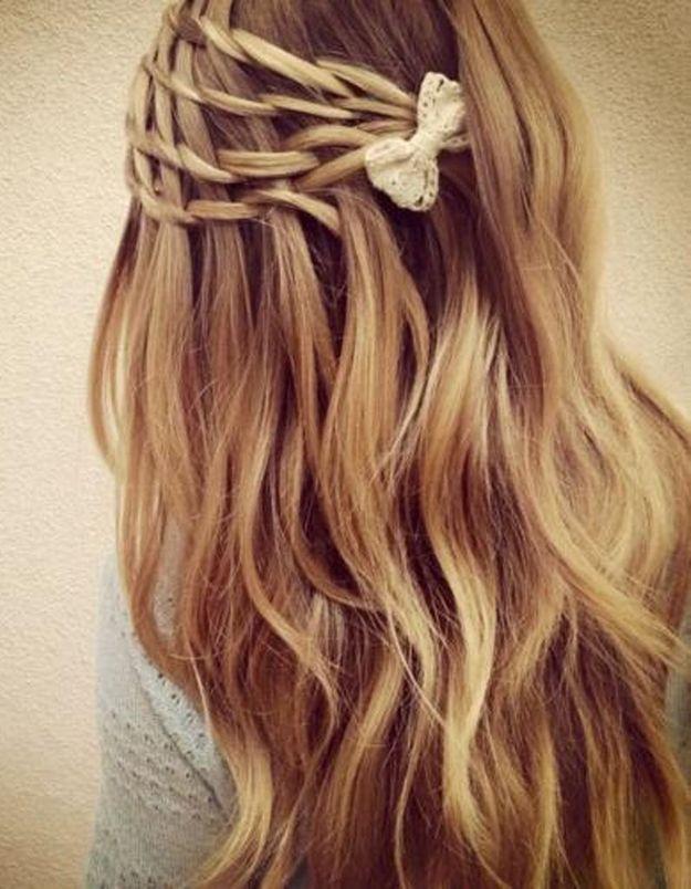 Coiffure de mariée Passementerie de cheveux