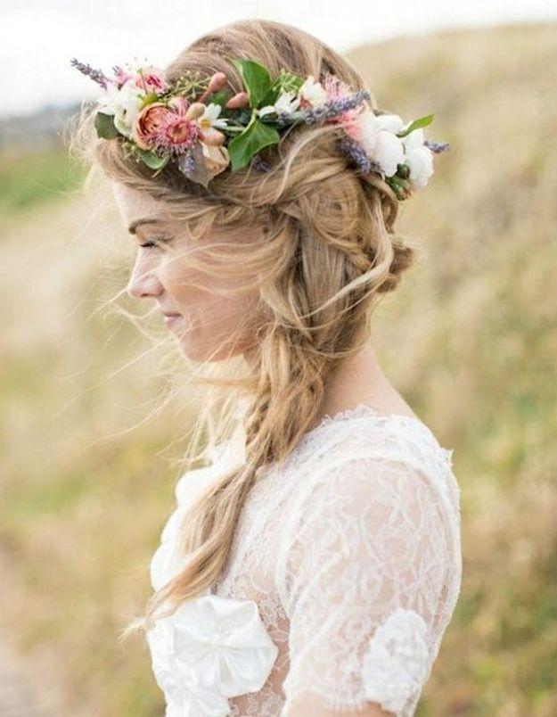 Coiffure de mariée printemps 2016