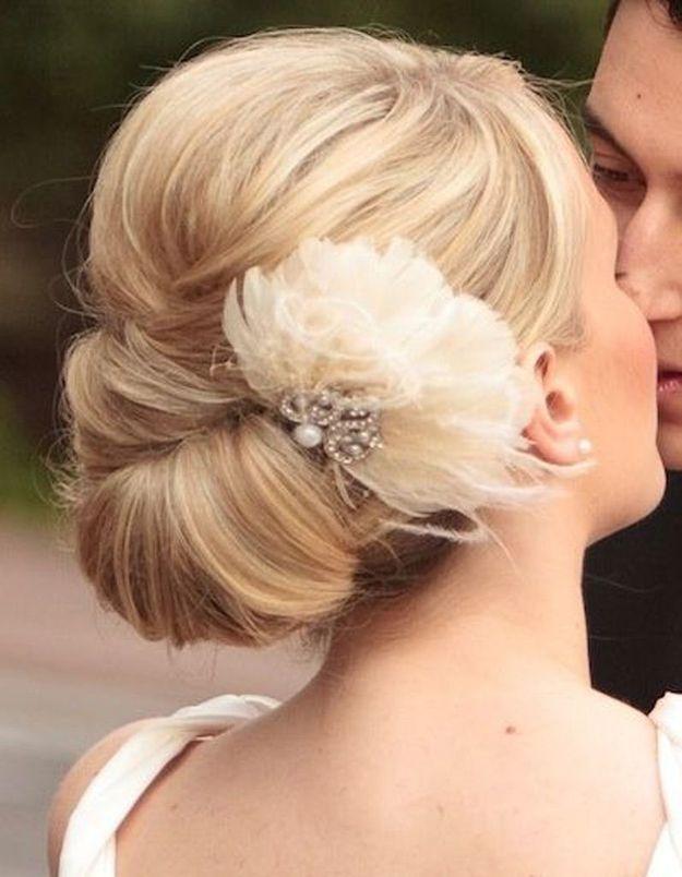 Coiffure mariée princesse
