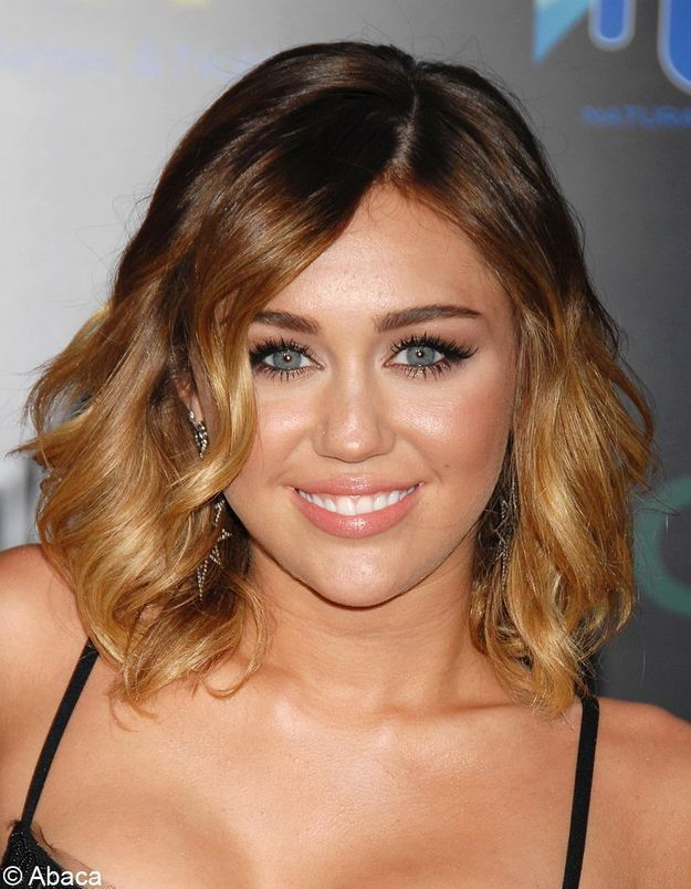 Ombré hair Miley Cyrus