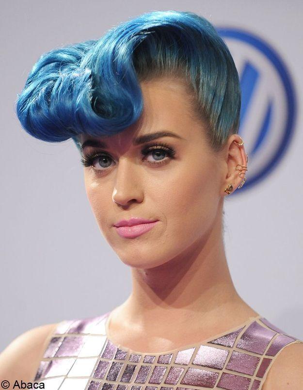 Coiffures banane - Katy Perry