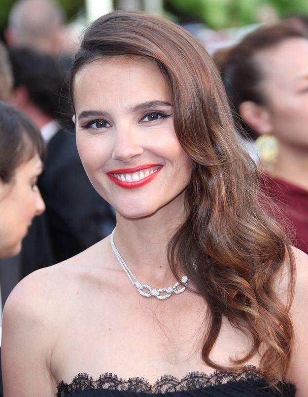 Virginie Ledoyen, vue à Cannes acec cet ondulé hollywoodien