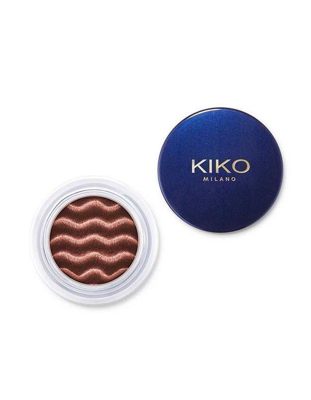 Magnetic Eyeshadow, Ombre à paupières en poudre libre au fini métallisé, Kiko, 12,95 €