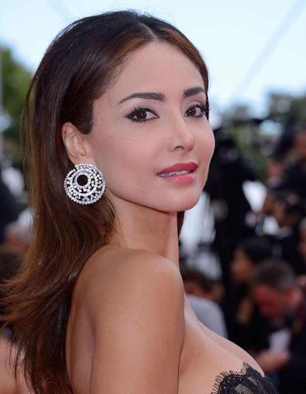 Le maquillage glamour de Patricia Contreras à Cannes