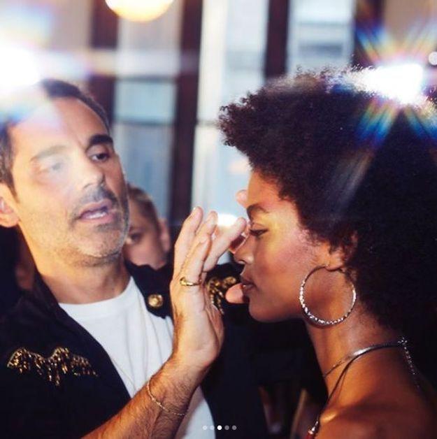 L'highlighter est à l'honneur au défilé Fenty  de Rihanna