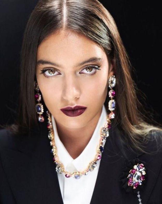 Le make-up dark chic de chez Dolce & Gabbana