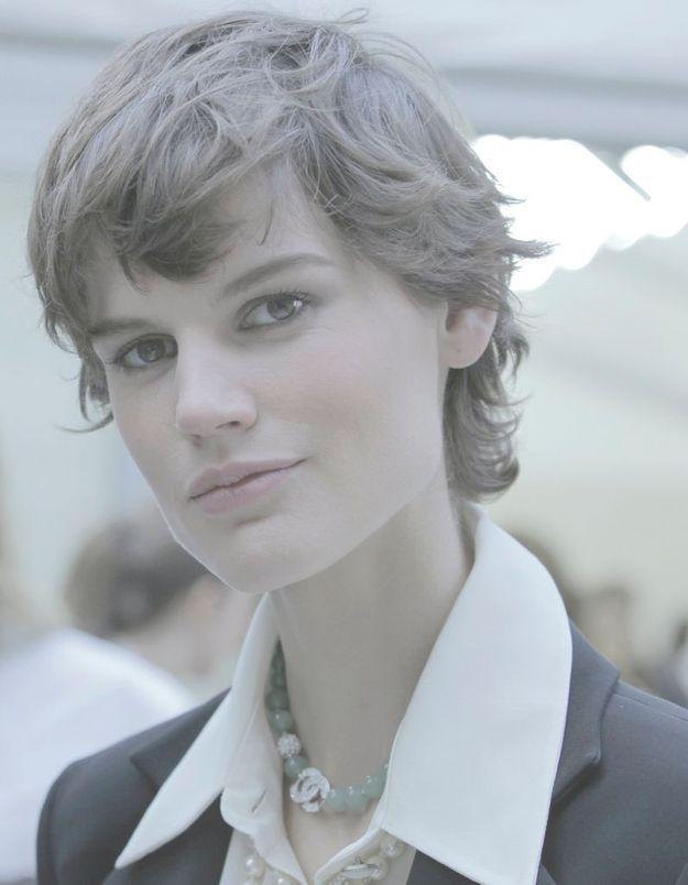 Saskia de Braw, l'une des égéries favorites de Karl Lagerfeld.