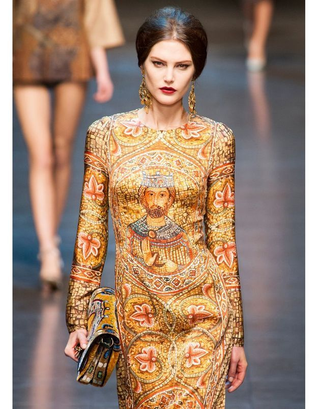 Défilé Dolce&Gabbana automne-hiver 2013-2014