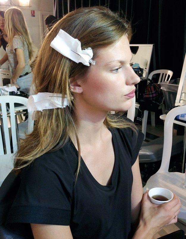 Mouchoir de coiffeur chez Isabel Marant