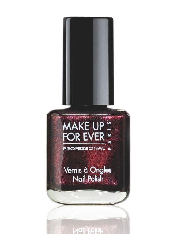 Vernis Black Tango Make Up For Ever