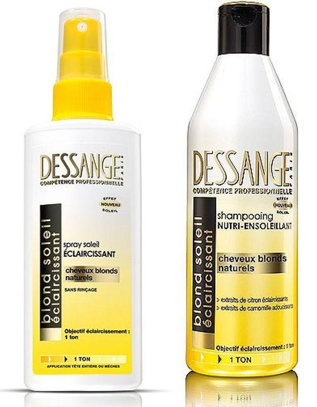 Shampooing et spray Dessange
