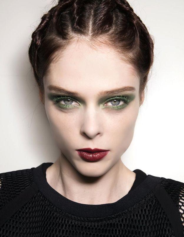 Maquillage Réveillon Coco Rocha