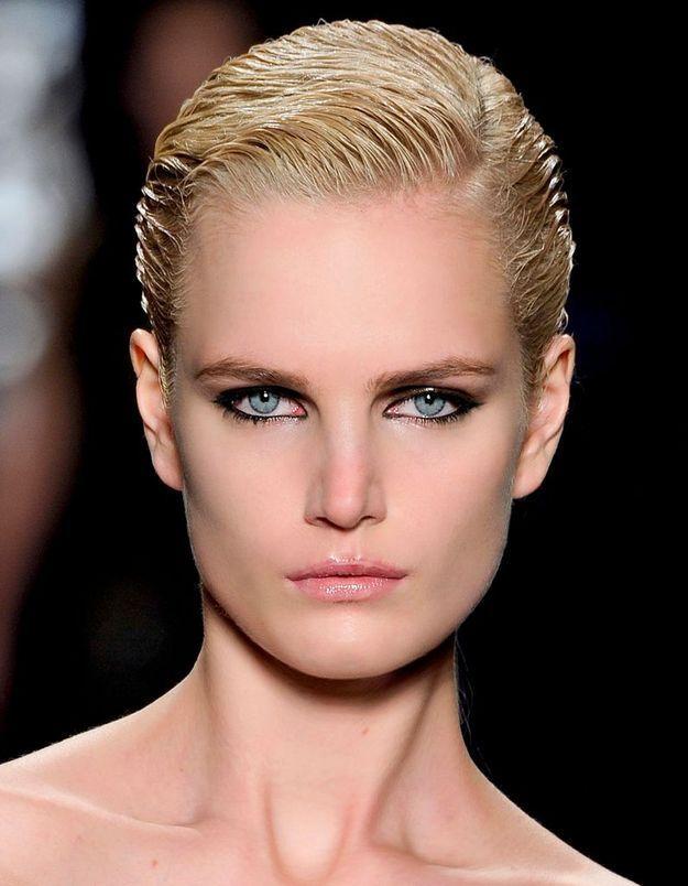 Maquillage Réveillon Yeux Bleus