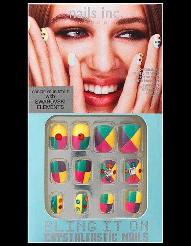 Nail Inc Crystaltastic Nails