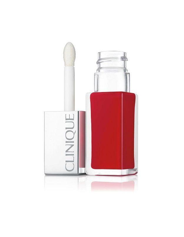 Rouge à lèvres, Pop Lacquer, Lava Pop, Clinique, 24 €