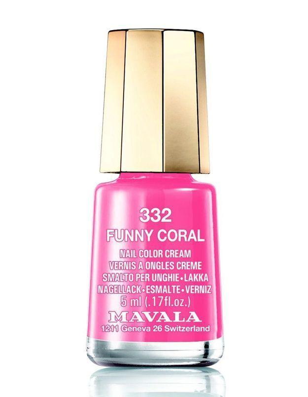Vernis Funny Coral, Mavala