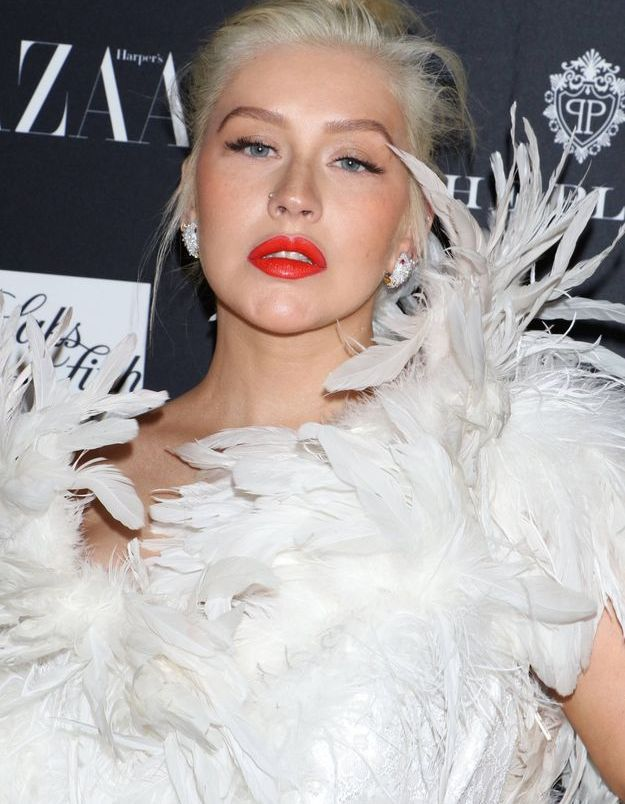 Cristina Aguilera avant